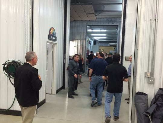 Stratford Sign Co. hosts a chamber tour, led by owners