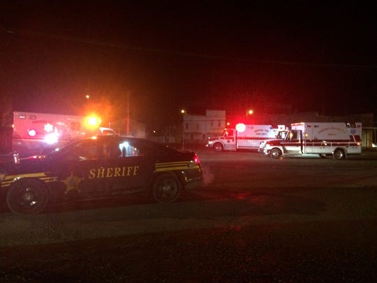 A large gas leak was reported Monday night on Watt