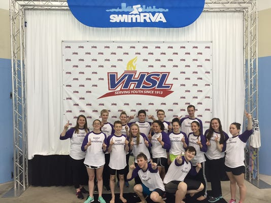 Waynesboro swim team photo