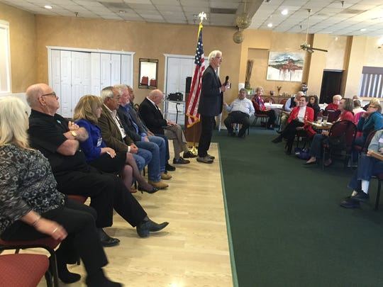 The Federated Republican Women of Lincoln County candidate forum, held Monday, was well attended.