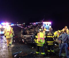 I-495 snarled by accident near Edgemoor