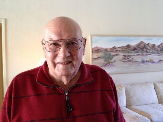 Bill Weed World War II Veteran  U.S. Marine Corps