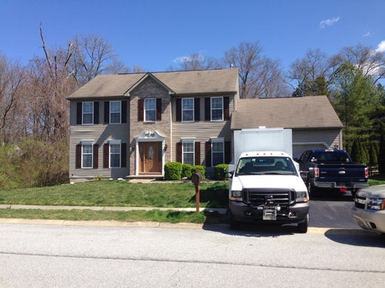 A house on Palo Lane near Newark was one of two sites that federal agents and local police raided Tuesday.