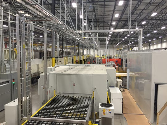View's 300,000-square-foot manufacturing plant in Olive