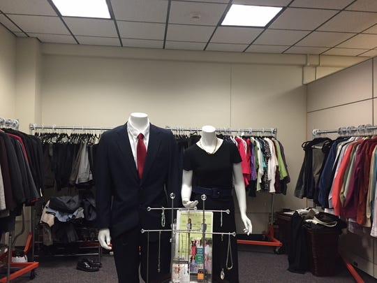 Professional Clothes Closet at The College at Brockport.