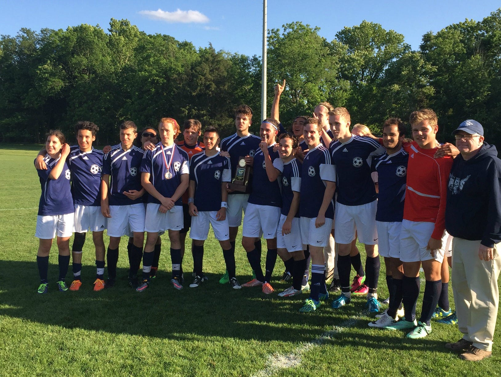 The Franklin Christian Academy soccer team won its first MTAC championship recently.