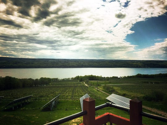 Located on the eastern shore of Seneca Lake, Two Goats Brewing offers some of the best views in the Finger Lakes.