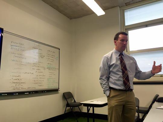 Mr. Matthew Connelly, vice principal