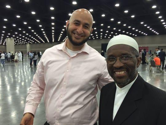 Basel Saqr, of Anderson Township, and Iman Ilyas Nashid