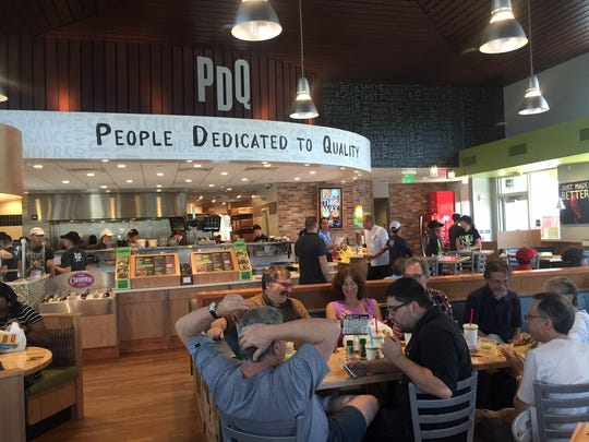 The PDQ chain of fast-casual chicken restaurants, which operates this site in Cherry Hill, is expected to add a site in Evesham.