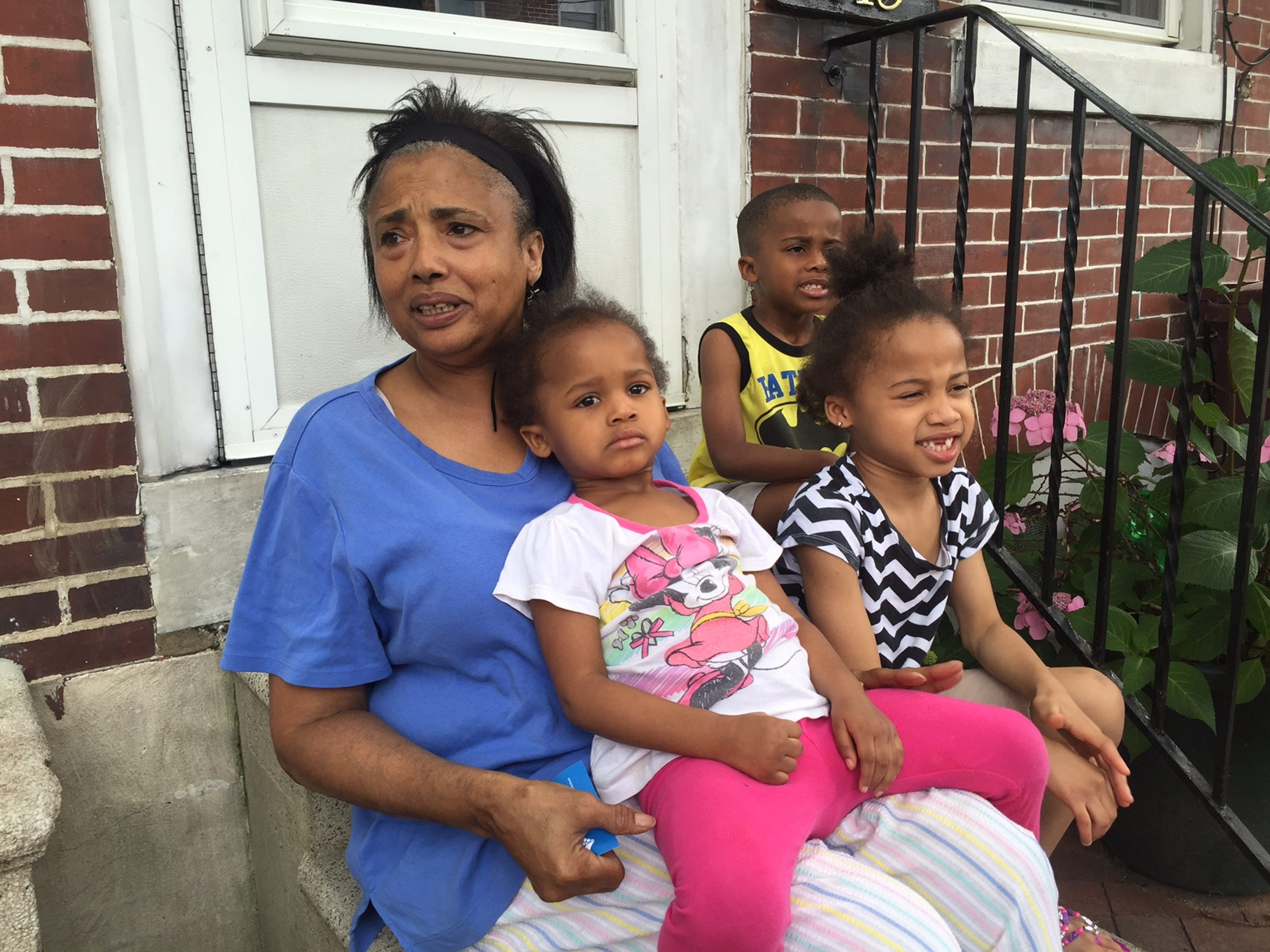Darlene VanRiper, grandmother of one of the four children shot Tuesday, said she worries about Hedgeville and Wilmington.
