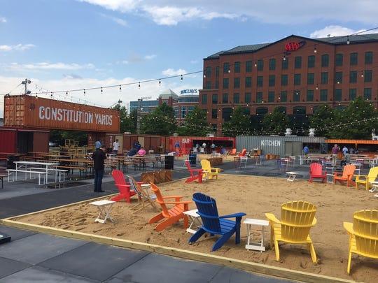 Wilmington's new beer garden opens Friday, June 25.