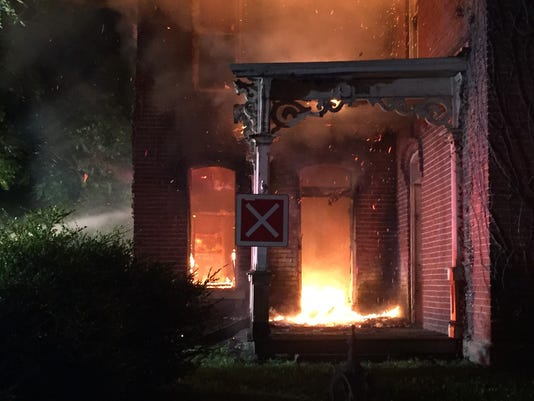 Locust Street Fire 1