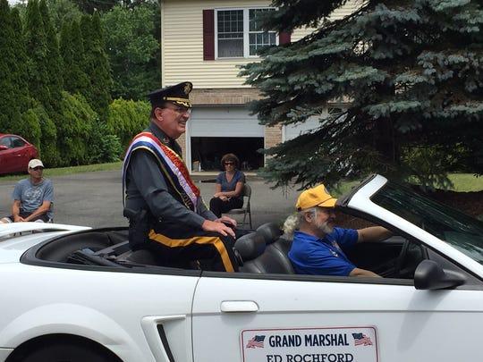 Morris County Sheriff Edward Rochford was grand marshal of the July 2, 2016 Randolph Kiwanis Freedom Parade