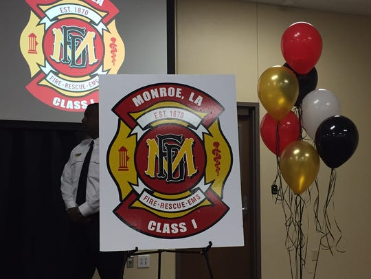 The Monroe Fire Department unveiled a new logo during