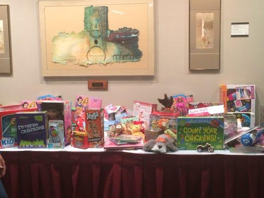 Donated toys to Ministry Saint Joseph's Children's