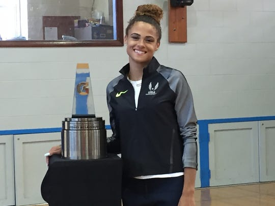 Among other honors, Sydney McLaughlin was recently