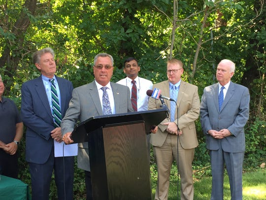 Middlesex County Freeholder Ronald G. Rios joined U.S.