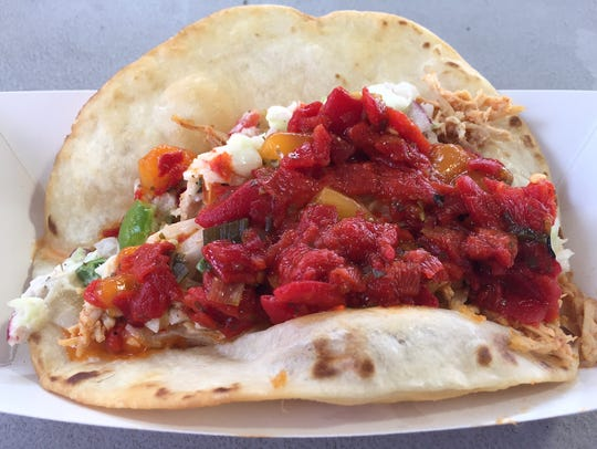 Not Your Mamma's Taco at the Iowa Turkey Federation