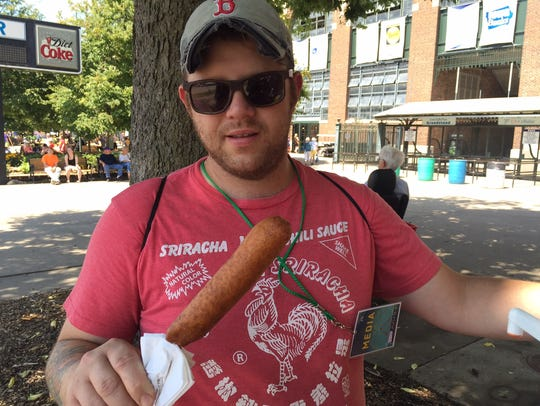Sean Wilson of Proof uses the corn dog as his baseline