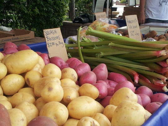 Get fresh produce at local farmers markets.