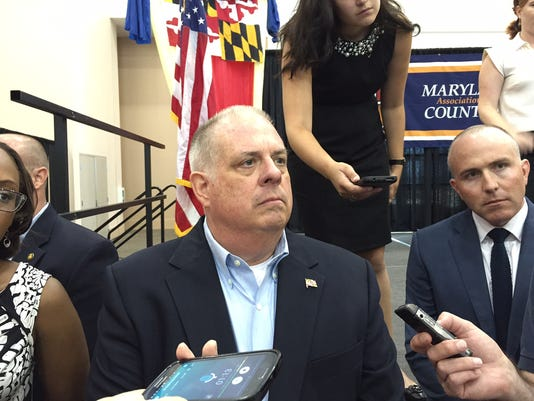 Larry Hogan at MACo