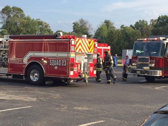 The fire department responded to the Days Inn on Route 22 in Bridgewater on Thursday.