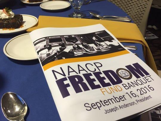 Muncie NAACP Freedom Fund Banquet program
