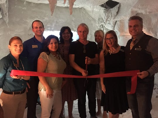 Salt Therapy Grotto ribbon cutting