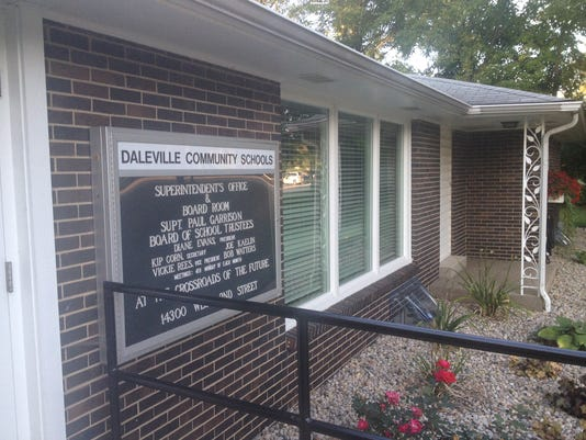 Daleville superintendent office