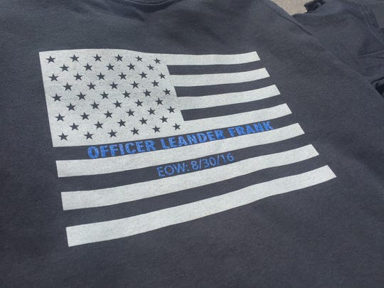 The fundraiser also raised money by selling memorial t-shirts at the event.