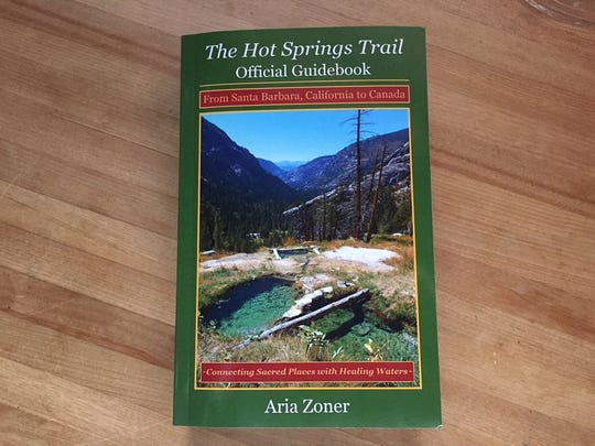 A 605-page guidebook to the Hot Spring Trail.