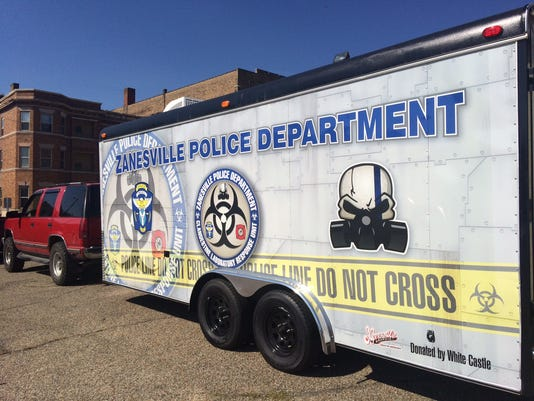 Police get new trailer to combat meth