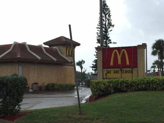 The McDonald's on State Road A1A in Satellite Beach,