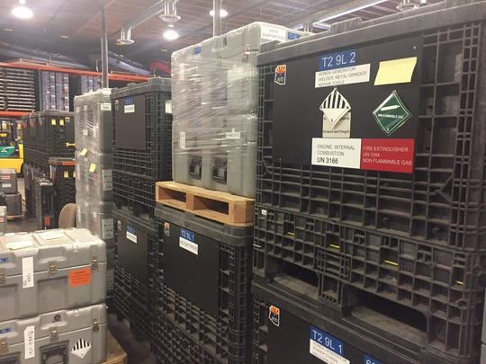 The Arizona Task Force Team 1 has an entire warehouse
