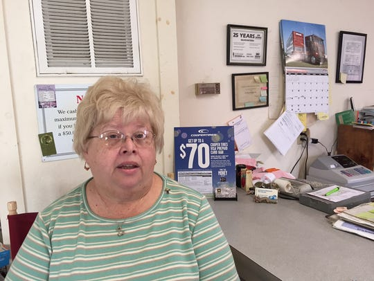 In this Oct. 7, 2016 photo, Barbara Winslow, owner