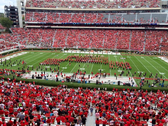 Georgia's Sanford Stadium