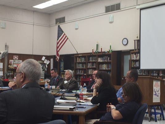 Holmdel School Board meeting