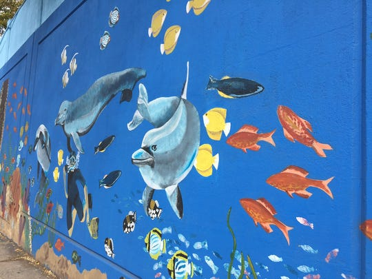 More than 50 children, teens and adults joined together under the direction of Kimberly Zadigan and Amanda Hatzikyriakou to complete a second mural, a farm scene, under the Avenel train overpass. The first, an ocean theme, was painted in 2015. Next year, a zoo theme will be completed, finishing the project.