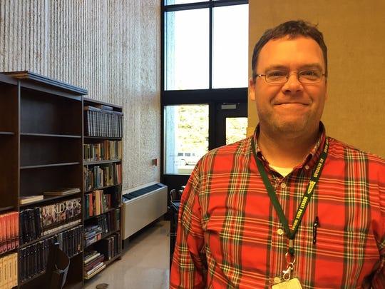 Reynolds High teacher Bill Rice