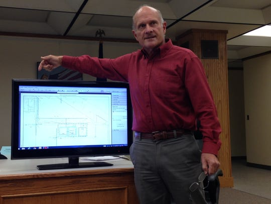 Hartford Iron and Metal's engineering consultant Jim