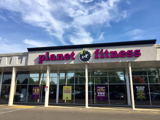 The Planet Fitness at 1635 Poplar Ave. in Midtown