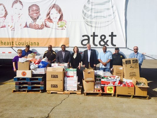 636140402892657171-City-of-Monroe-Canned-Food-Drive-for-Food-Bank-of-NELA-2375-pounds-.jpg
