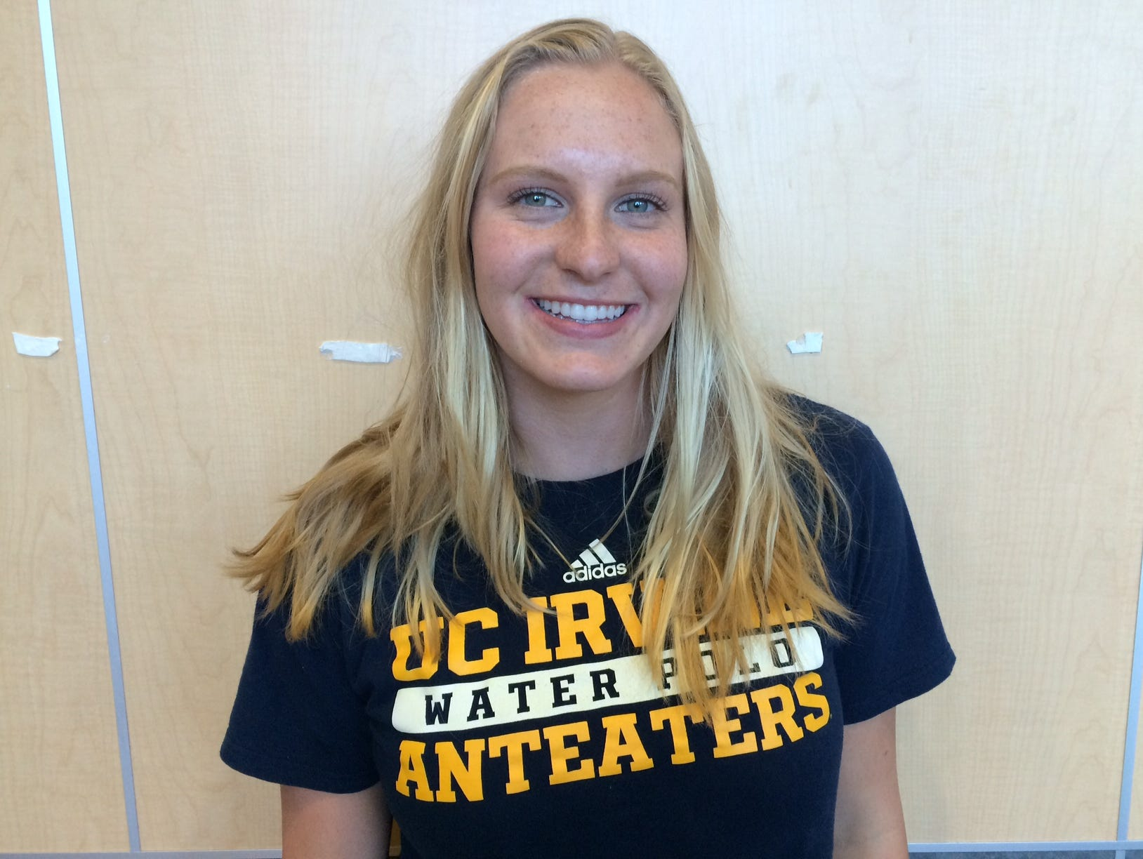 Palm Desert senior Sarah Nichols signed her national letter of intent Wednesday to play water polo for UC Irvine.