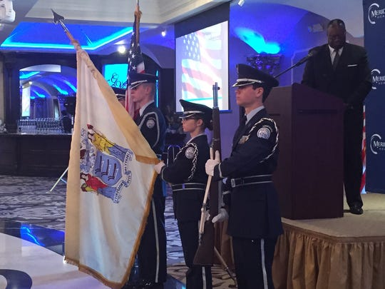 The Old Bridge High School Air Force ROTC participated