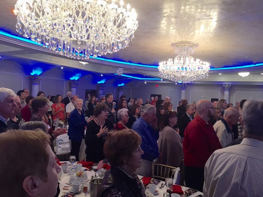 More than 200 people, including veterans, attended