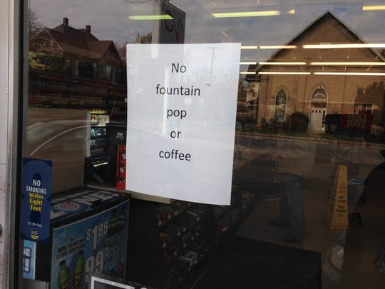 Potentially hazardous tap water halted coffee making
