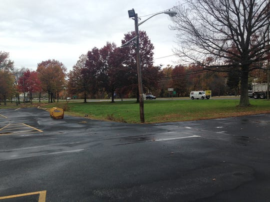 This parcel of land at the front of Plaza 70 on Route 70 East at the corner of Route 70 and Cooper is where a 5,500-square-foot building is planned, which would house an AtlantiCare urgent care center and a Bacharach physical therapy center.