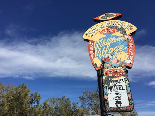Wildflower Village, formerly a motel and art gallery, closed on Monday, Nov. 28, 2016.