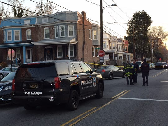 One person was injured in a shooting Monday morning